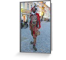 Fool in Slovenia Greeting Card