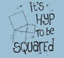 It's Hyp to be Squared (black) by funmaths