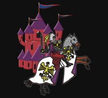 Knight and Castle T-shirt Kids Tee