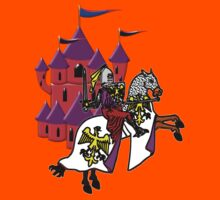 Knight and Castle T-shirt Kids Clothes
