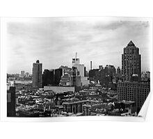 Manhattan Skyline, New York Poster