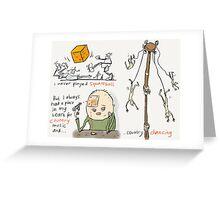Squareball Greeting Card