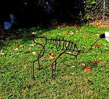 Skeleton Sculpture by Krivochenco