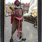 Jester & Pink Unicycle by jollykangaroo