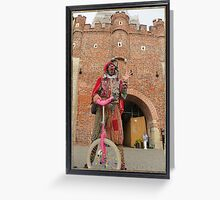 Jester in Poland Greeting Card
