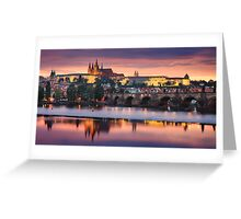 Prague Vista Greeting Card