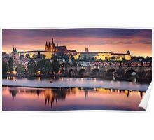 Prague Vista Poster