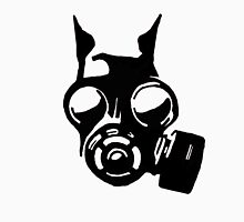 Future War Dog with a gas mask Unisex T-Shirt