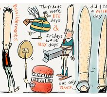 Thursdays were Bee Days by Ellis Nadler