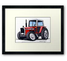 Massey Ferguson 590 Tractor Framed Print