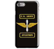 Army Aviation Branch ( t-shirt ) iPhone Case/Skin