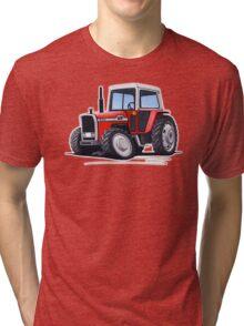 Massey Ferguson 590 Tractor Tri-blend T-Shirt