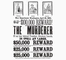 Murderer At Large Kids Clothes