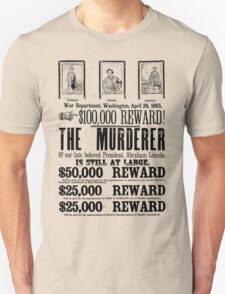 Murderer At Large T-Shirt