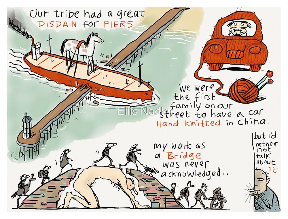 Pier Disdain by Ellis Nadler