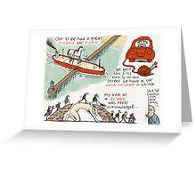 Pier Disdain Greeting Card