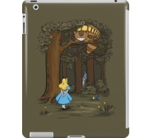 My Neighbor in Wonderland (Army) iPad Case/Skin