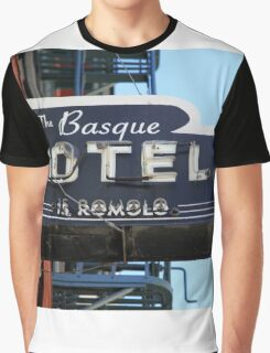 Pan AM #12 - Basque Country Graphic T-Shirt