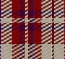 00316 Shiel Claret Tartan Fabric Print Iphone Case by Detnecs2013