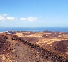 Volcano Path & 'Little Ovens' by Francis Drake