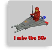 I miss the 80s (especially my Lego) Canvas Print