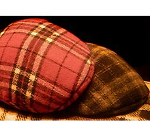 Tartan Bonnet Photographic Print