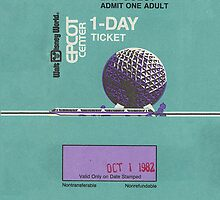 Epcot Center Ticket by CajunsCanCook