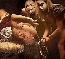 Judith Beheading Holofernes.  by Ant Vaughan