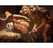 Judith Beheading Holofernes.  Photographic Print