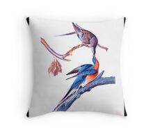 First American West  The Ohio River Valley, 1750-1820 - passanger pigeon Throw Pillow