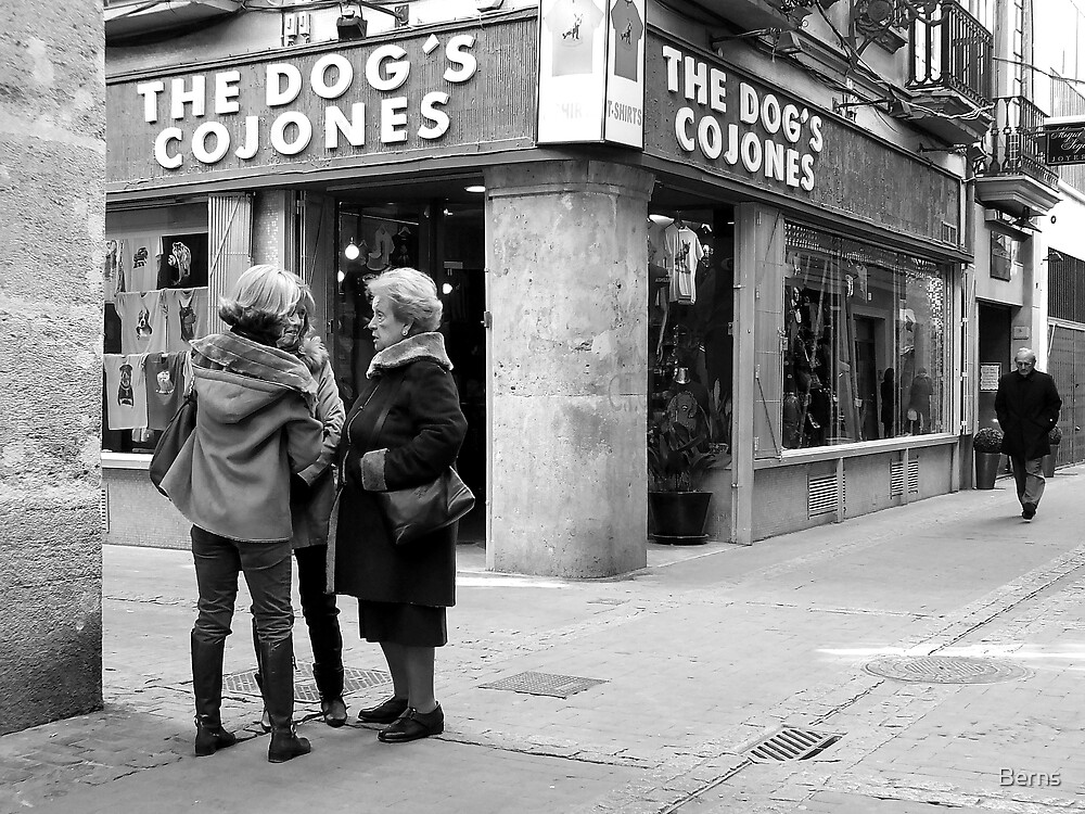 It's The Dogs … by Berns