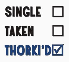 Single Taken Thorki'd - Black by Golubaja