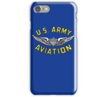 Army Aviation (t-shirt) iPhone Case/Skin