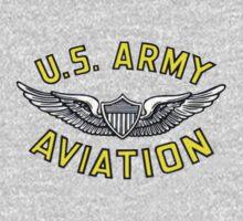 Army Aviation (t-shirt) Kids Tee