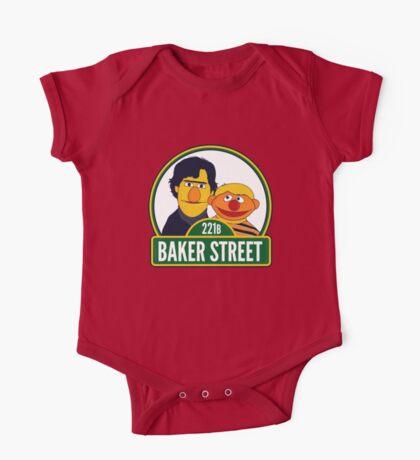 Baker Street One Piece - Short Sleeve