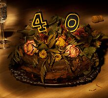Birthday cake nr 40 by Peter Zentjens