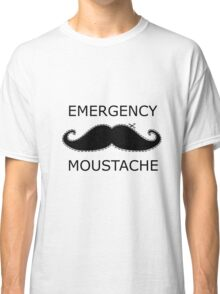 Emergency Moustache Classic T-Shirt