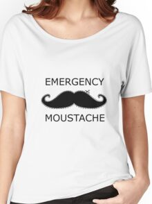 Emergency Moustache Women's Relaxed Fit T-Shirt