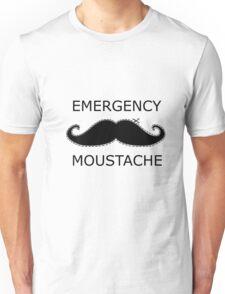 Emergency Moustache Unisex T-Shirt