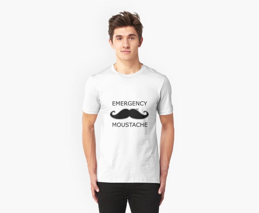 Emergency Moustache by Connor Bartlett