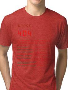 404 Tri-blend T-Shirt