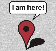 I am here! Google Maps One Piece - Long Sleeve