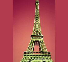 Eiffel Tower iPhone Case by wlartdesigns