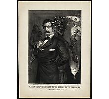 Satan tempting Booth to the murder of the President, [Magee Portrait of Booth]. Photographic Print