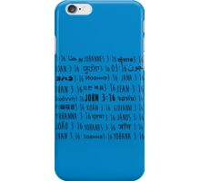 John 3:16 iPhone Case/Skin