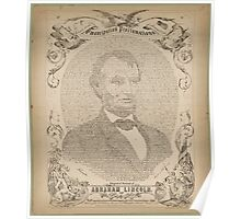Swander Bishop & Co. copy of the Emancipation Proclamation Poster