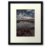 St Johns Light House Framed Print