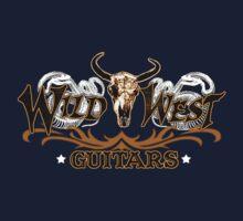 Wild West Guitars Bull Head Logo Shirt Kids Clothes