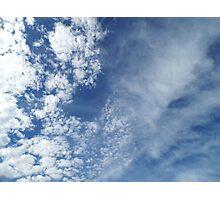 Air Turbulance Photographic Print