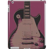 Les Paul Pop Art Style - Purple iPad Case/Skin